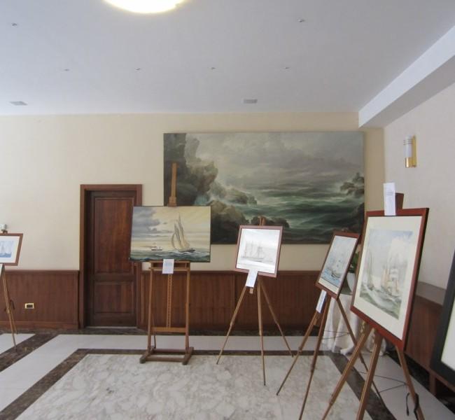 2012 – Esposizione al Circolo Ufficiali di Marina a Roma