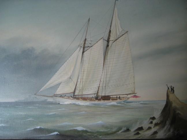 """03. """"Altair"""" disegno di W. Fife III – 1931"""