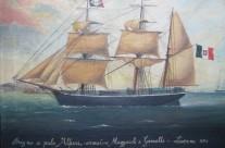 14. Brigantino a palo Alfieri – 1856