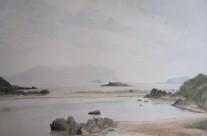 29. Cala Sassari con l'isola di Tavolara