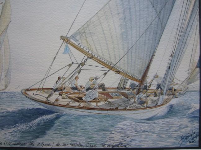 04. XVII Raduno Vele D'Epoca Imperia 2012 – The Lady Anne