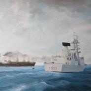 """Nave Andrea Doria – Operazione """"Ocean Shield"""" 2011"""