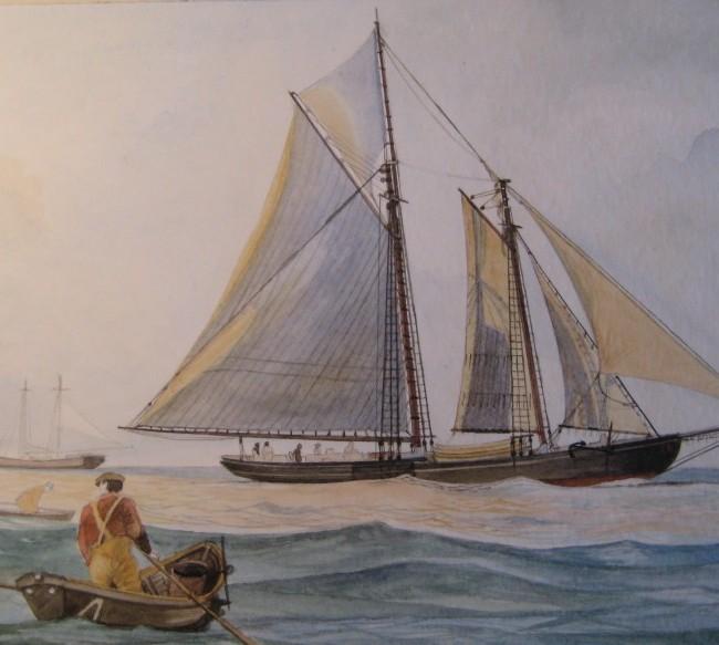 L.A. Dunton goletta per la pesca sui grandi banchi