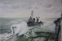 """U.S.S. Walker DD 517 dal 1969 Nave """"Fante"""" D561"""