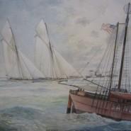 AMERICA'S  CUP 1886 ( sesta edizione)