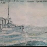 Cento anni fa la Grande Guerra –  Primi scontri nel mediterraneo – Goeben e Breslau
