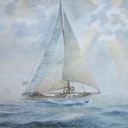 """Cutter """" Oenone"""" 1935"""