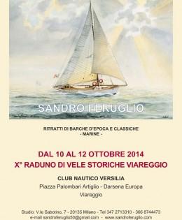 Mostra collettiva presso il Circolo Nautico Versilia di Viareggio
