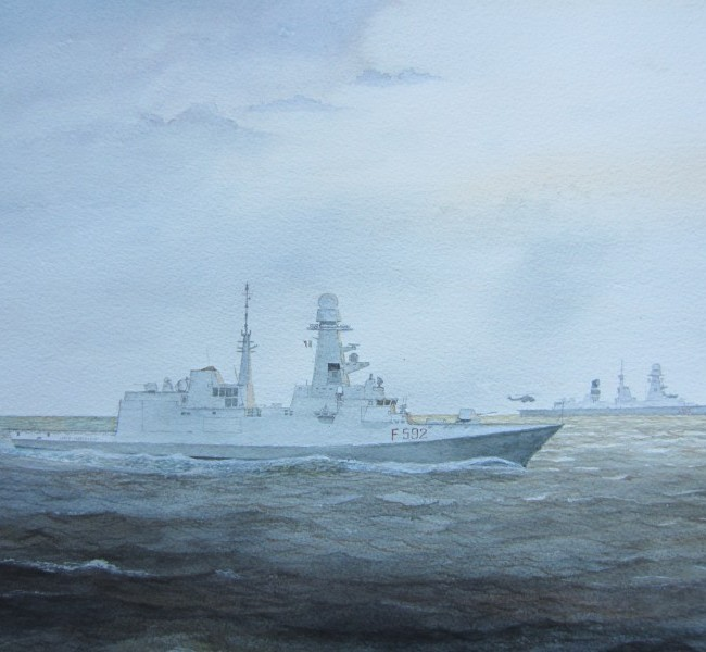"""Fregata FREMM """" Carlo Margottini"""" (F592)"""