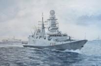 """Fregata FREMM """" Virginio Fasan""""  (F591)"""