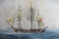 """Fregata Grossa Veneziana """" FAMA"""" 1784"""