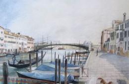 Fondamenta fianco ponte lungo – Venezia