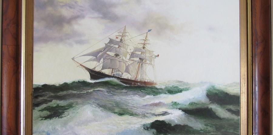LE  ALI SUL MARE- Il capitano evangelico e la flotta livornese. Breve storia degli armatori Cignoni di Rio.