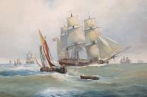 """Fregata leggera da trasporto ( terzo rango) """" Kavalier Angelo""""- 1784"""