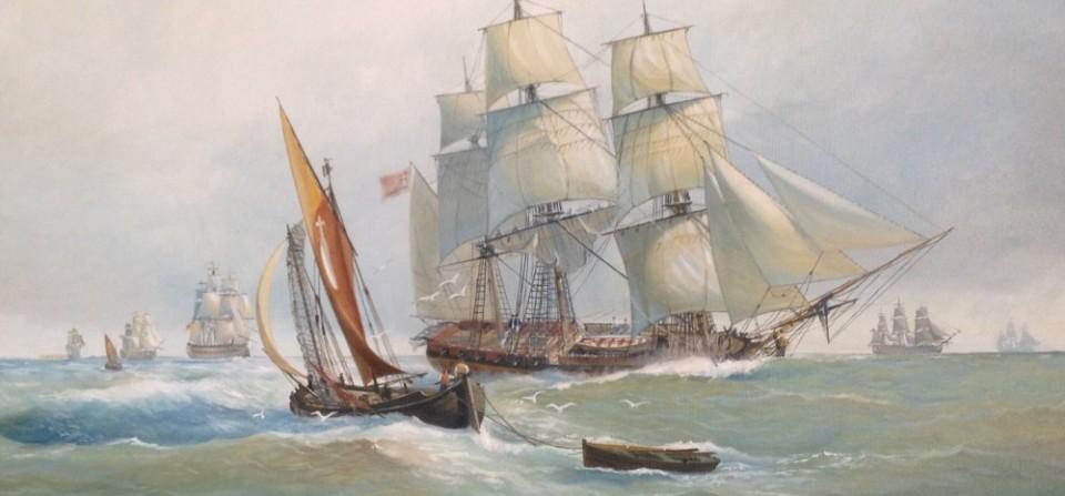 """Fregata leggera da trasporto ( terzo rango) """" Cavalier Angelo"""""""