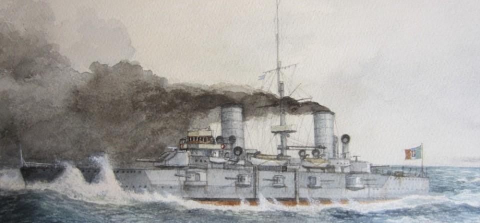 """L'incrociatore corazzato """" VARESE"""" 1901- 1923"""