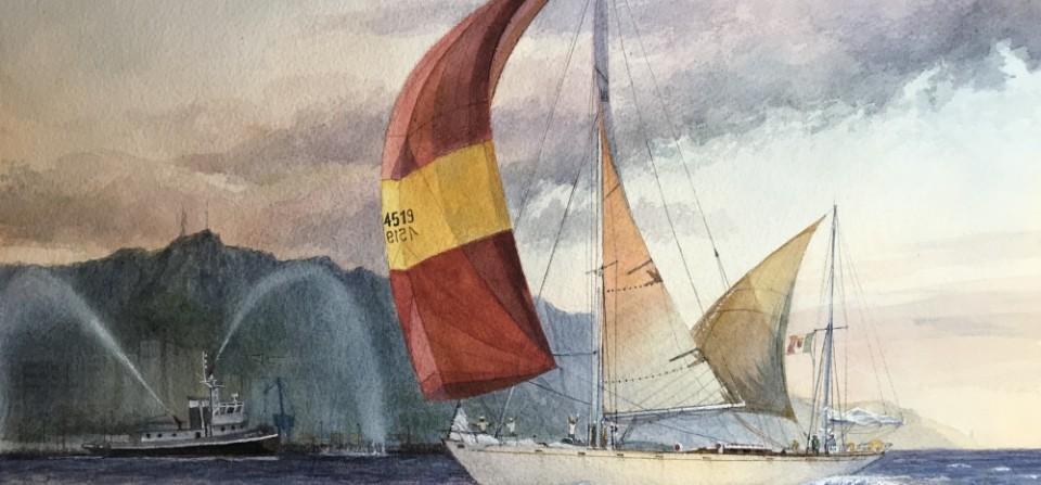 """Sono passati 50 anni dalla vittoria di """"STELLA POLARE"""" alla regata Plymouth – Tenerife"""